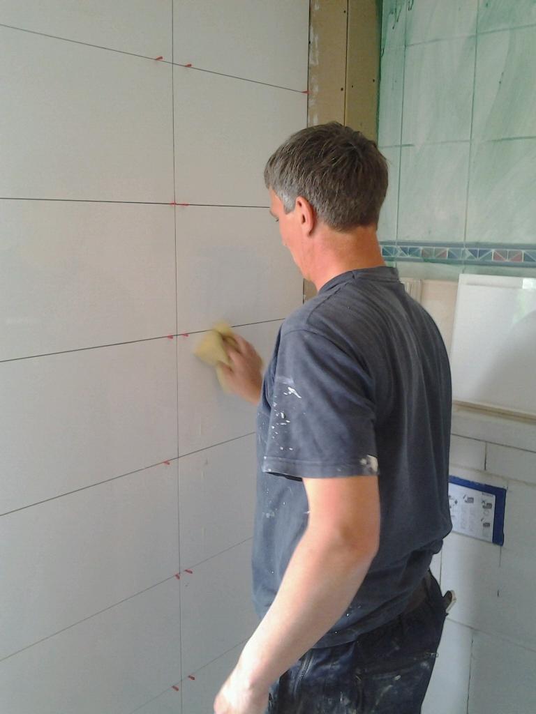 Nieuwe badkamer Tom Jansen bouwbedrijf
